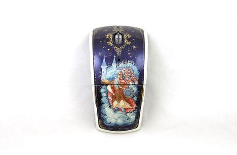 Мышь компьютерная с ручной росписью 3815