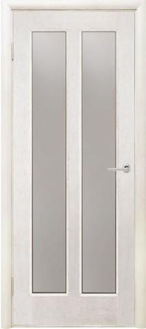 Дверь Двери Белоруссии Дива ПО, цвет ясень белый, остекленная