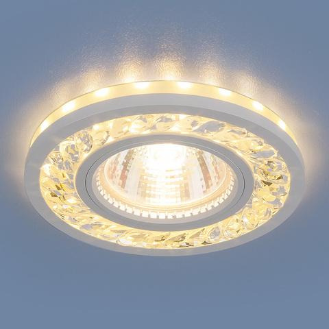Точечный светодиодный светильник 8355 MR16 CL/WH прозрачный/белый