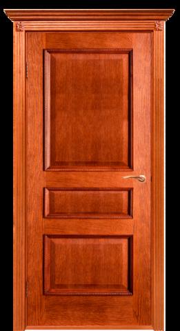 Дверь Двери Белоруссии Вена ПГ, цвет орех-коньяк, глухая