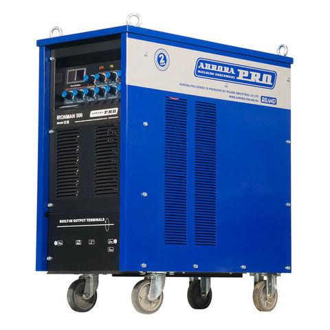 Индустриальный аппарат аргонодуговой сварки AuroraPRO IRONMAN 500 AC/DC PULSE (TIG+MMA)