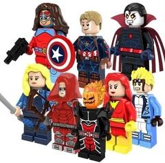 Минифигурки Супергерои и Суперзлодеи серия 244