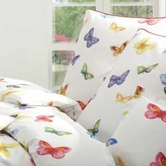 Элитная наволочка Butterfly белая от Elegante