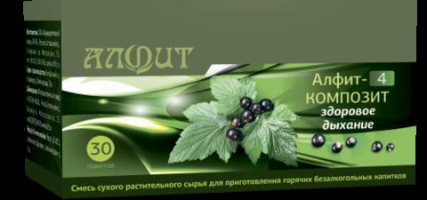 Фитосбор АЛФИТ-4 КОМПОЗИТ Здоровое дыхание, 30ф/п*2г
