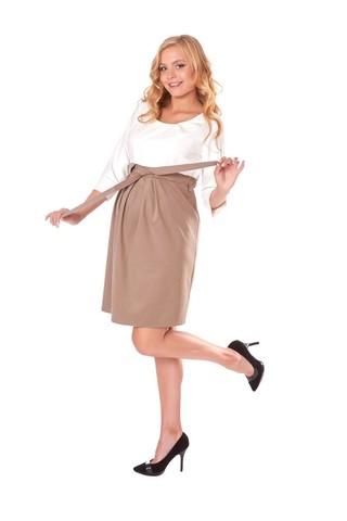 Платье 05709 белый-бежевый