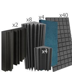 акустический поролон набор для помещения  10 м2 ИДЕАЛ
