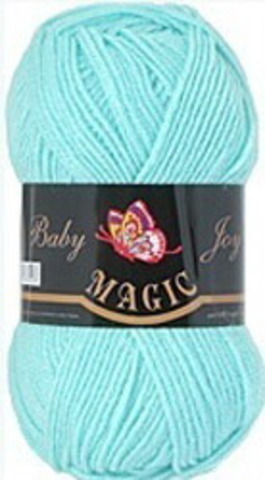 Пряжа Baby Joy (Magic) 5707 Светлая зеленая бирюза фото
