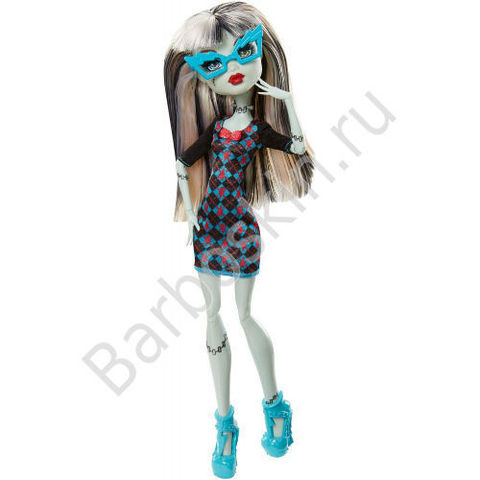 Кукла Monster High Фрэнки Штейн (Frankie Stein) - Гик Крик
