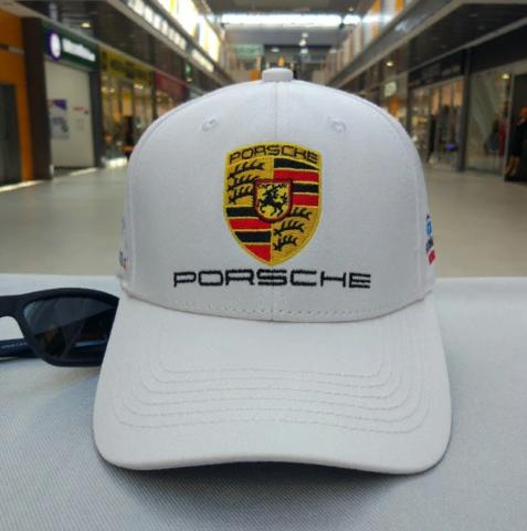 Кепка Порше белая (Бейсболка Porsche)