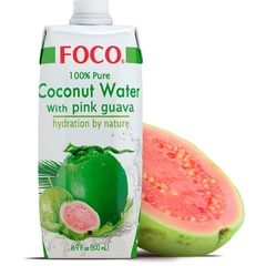 Вода Кокосовая с розовой гуавой, т/п, 330 мл (ЭксИм Пасифик)