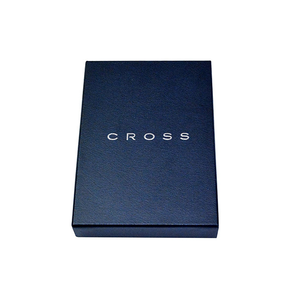Кошелек Cross Nueva FV, цвет черный, 12,1 х 9,6 х 1,2 см