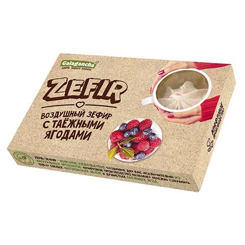 """Зефир """"Galagancha"""" с таежными ягодами 140 г"""