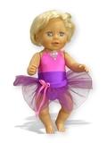 Купальник - На кукле. Одежда для кукол, пупсов и мягких игрушек.