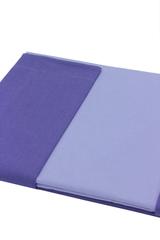 Постельное белье 1.5 спальное Caleffi Bicolor сиреневое