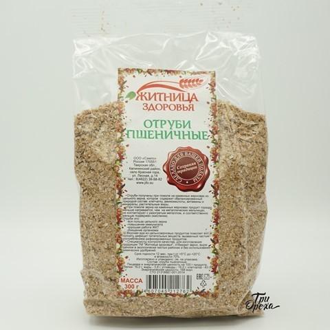 Отруби пшеничные ЖИТНИЦА ЗДОРОВЬЯ, 300 гр