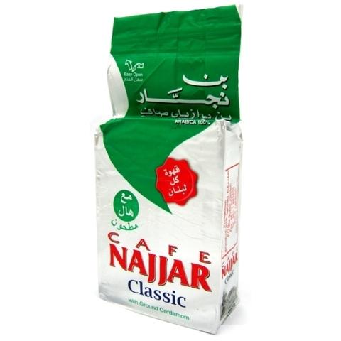 Арабский кофе Najjar натуральный молотый с кардамоном, 200 г