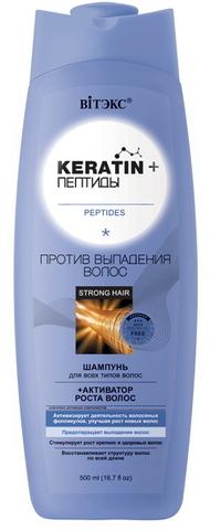 Keratin & Пептиды ШАМПУНЬ для всех типов волос
