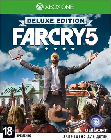 Microsoft Xbox One Far Cry 5. Deluxe Edition (русская версия)