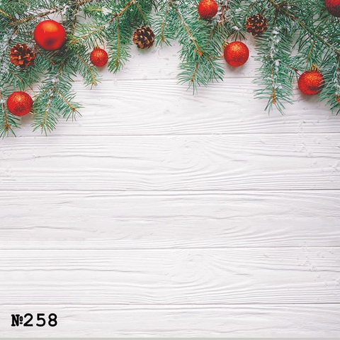 Фотофон виниловый «Доски и елка» №258