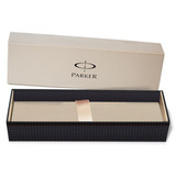 Шариковая ручка Parker Jotter Premium K172 Satin Black SS Chiseled Mblue (S0908860)