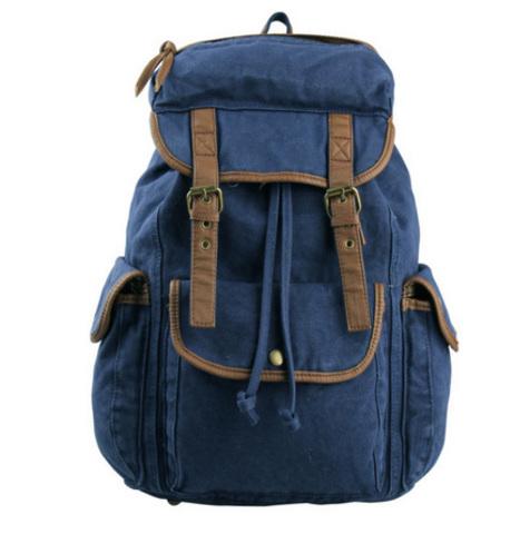 Рюкзак винтажный BUG 12 Blue