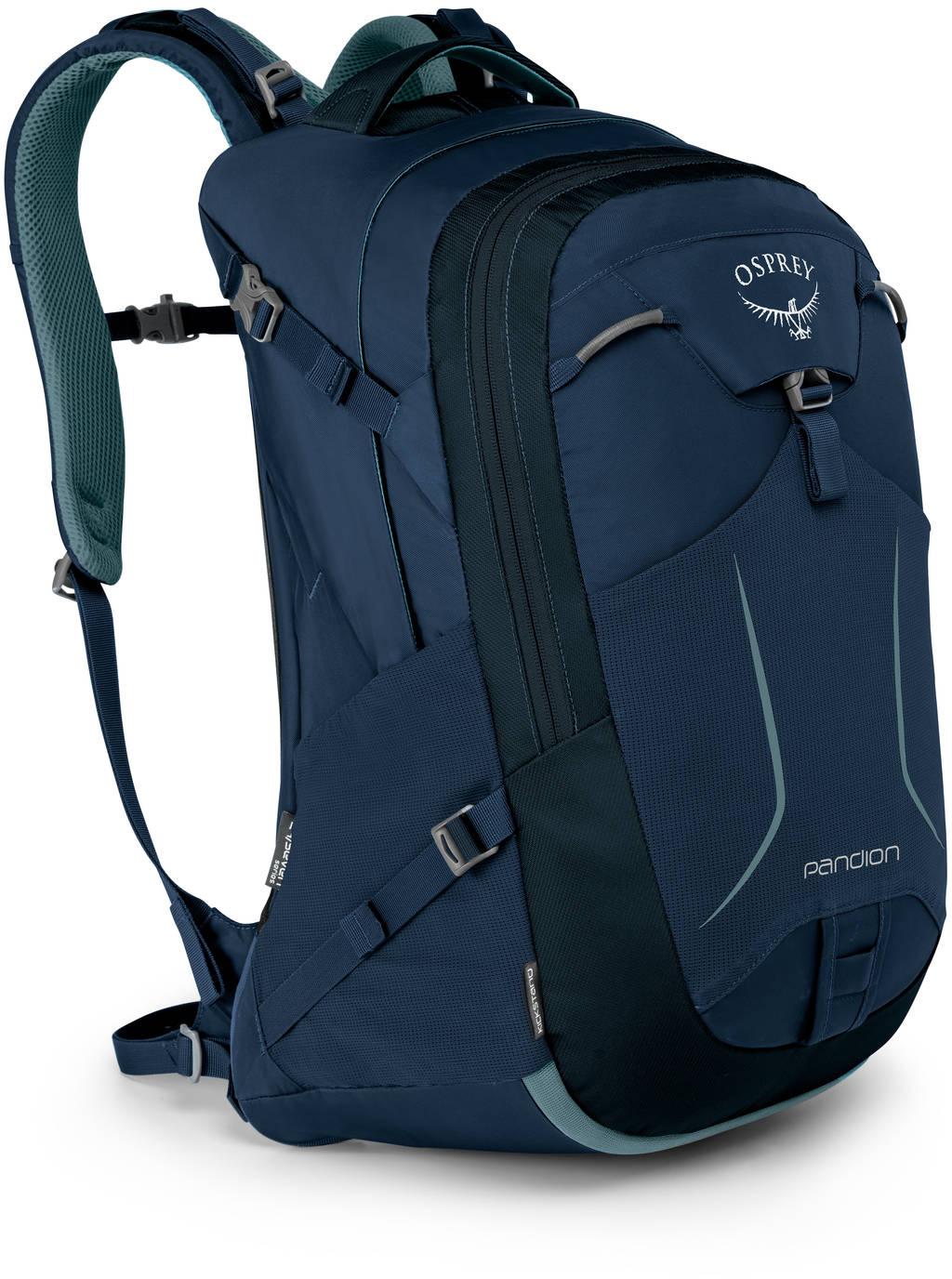 Городские рюкзаки Рюкзак городской Osprey Pandion 28 Navy Blue Pandion_F17_Side_Navy_Blue_web.jpg