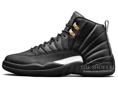 Кроссовки Мужские Air Jordan 12 Retro Jumpmen Black Master