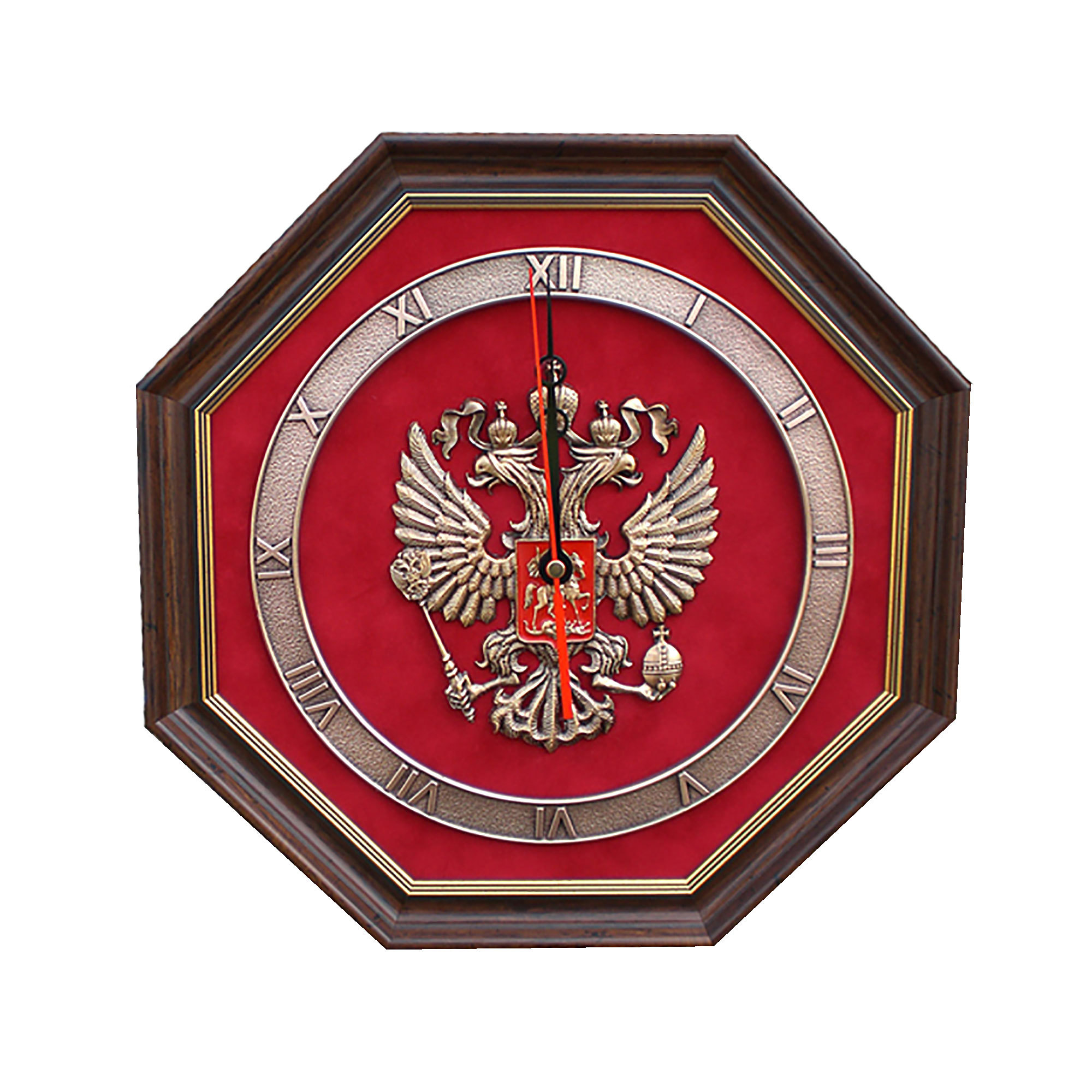 """Настенные часы """"Герб России"""" от 6 600 руб"""