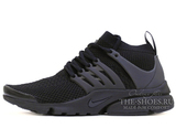 Кроссовки Мужские Nike Air Presto Ultra Flyknit Triple Black