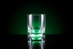 Светящийся стакан для виски GlasShine, зеленый