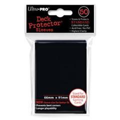 Ultra Pro - Черные протекторы 50 штук