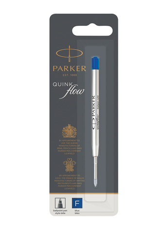 Parker Стержень для шариковой ручки, F, синий*