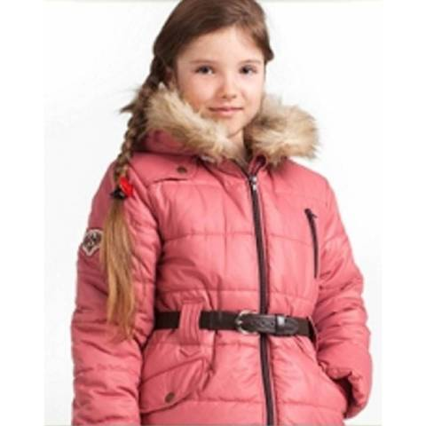 КТ101 Куртка для девочки Зима