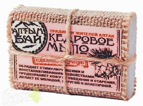 Мыло Алтын Бай Кедровое, 80 г