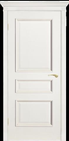 Дверь Двери Белоруссии Вена ПГ, цвет ясень белый, глухая