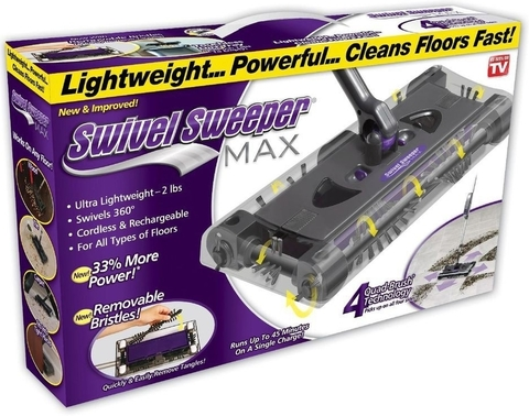Электровеник Swivel Sweeper Max (Свивел Свипер Макс)