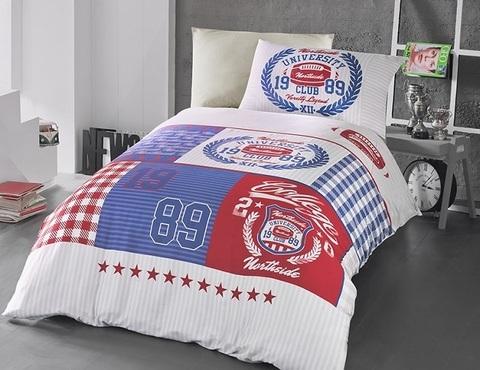 Комплект постельного белья DO&CO RANFORCE Подростковое 1,5 спальное BORIS