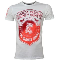 Футболка белая Yakuza Premium 2707
