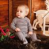 Комплект термобелья для малышей Lite, однослойный из шерсти мериноса (боди + ползунки)