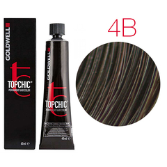 Goldwell Topchic 4B - Cтойкая крем краска 60мл