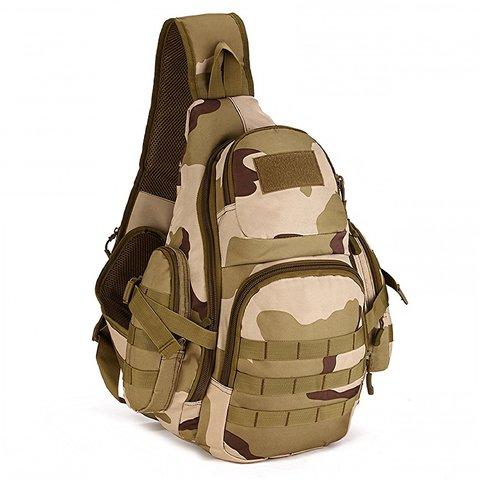 Тактический однолямочный рюкзак Mr. Martin 5053 3 COLOR DESERT