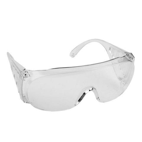 Очки защитные открытого типа, прозрачные, поликарбонатная монолинза, с боковой вентиляцией, DEXX