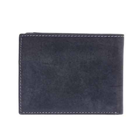 Кожаный бумажник Klondike 1896 «Yukon black», 9 отделений, Germany, фото 8