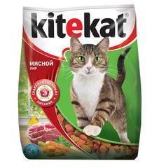 Kitekat Мясной пир корм для взрослых кошек