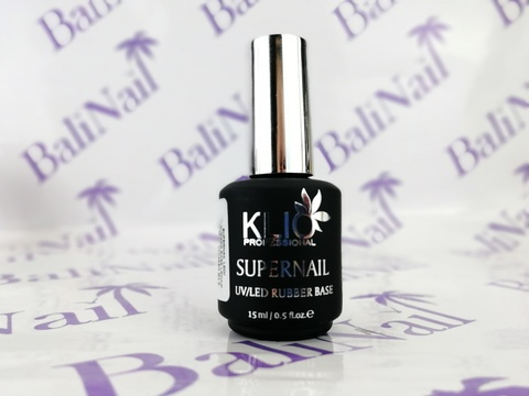 KLIO База SUPERNAIL (RUBBER BASE LED/UF), 15мл