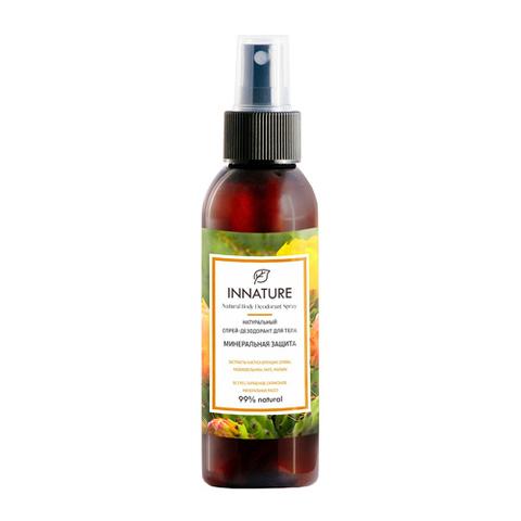 Дезодорант-спрей для тела Минеральная защита   Innature