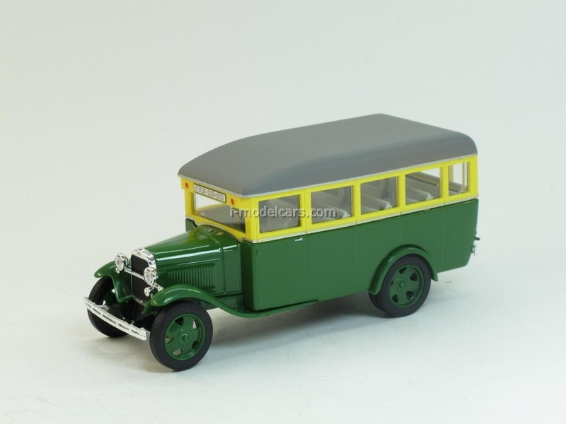 GAZ-03-30 green-yellow 1:43 Nash Avtoprom