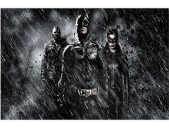 Постер Арт Тёмный рыцарь Возрождение легенды Супергерои — Poster Art The Dark Knight Rises