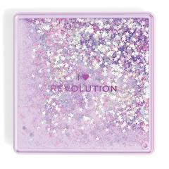 Палетка теней Makeup Revolution I Heart Makeup Glitter Palette, Fortune Seeker