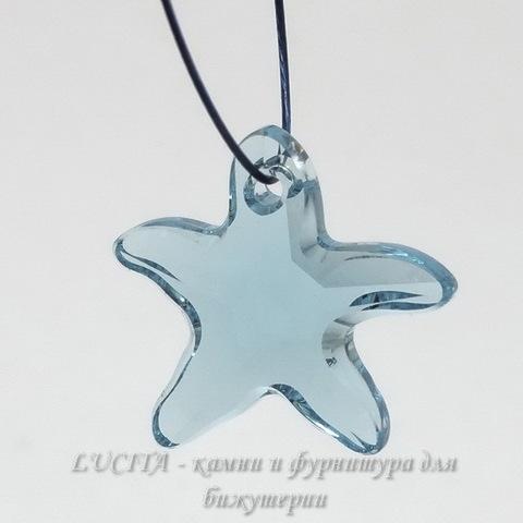 6721 Подвеска Сваровски Морская Звезда Aquamarine (16 мм) ()